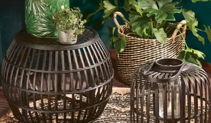 Dekoracje na taras w stylu tropikalnym