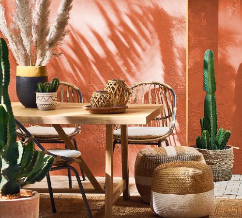Taras w stylu marokańskim - sprawdź aranżacje stylu desert folwer