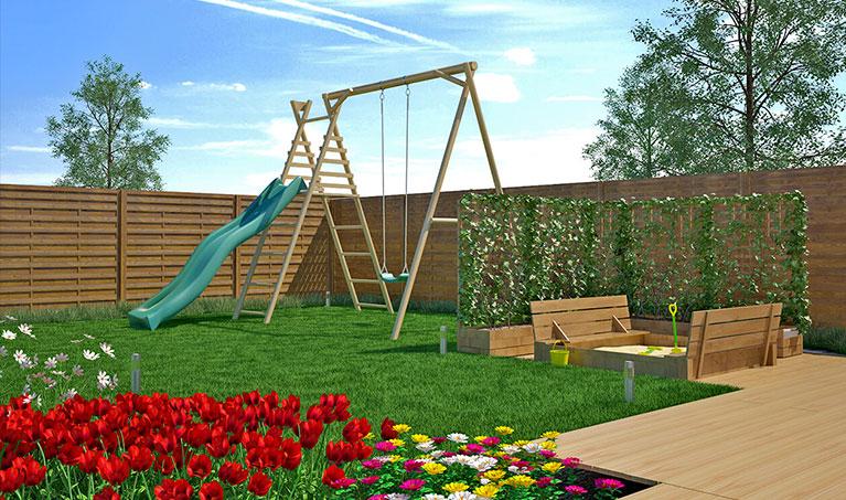 Ogród w wersji dla najmłodszych